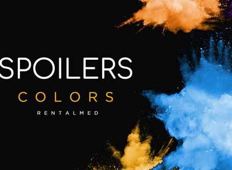 Spoilers Colors RentalMed