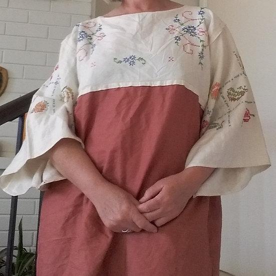Bohemian dress(custom made to order)