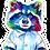 Thumbnail: Raccoon Magnet