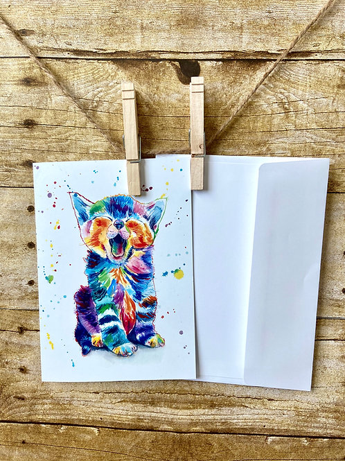 Cosmo the Cat Notecard