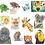 Thumbnail: 12 Animal Notecards