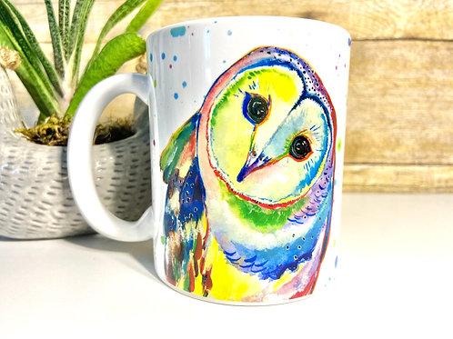 Barn Owl Mug (15 oz)