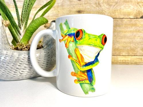 Tree Frog Mug (15 oz)