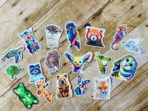 50 Wholesale Stickers