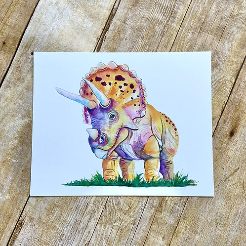 Tater Tot the Triceratops