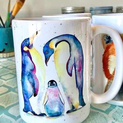Penguin Mug (15 oz)