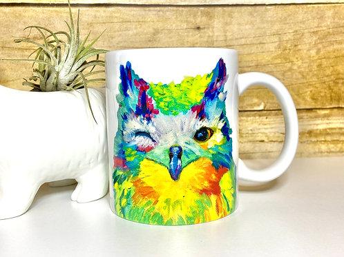 Winking Owl Mug (15 oz)