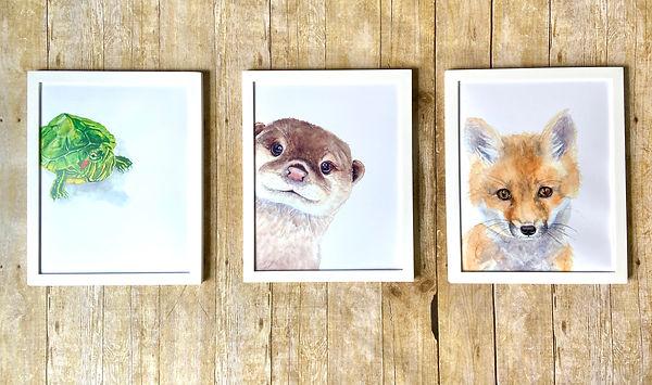 Waterolor Animal Art Print Collection.jp
