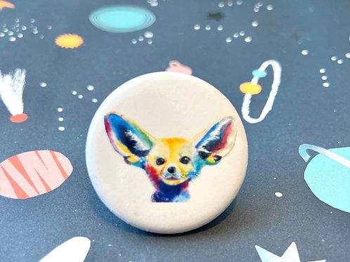 Fennec Fox Button