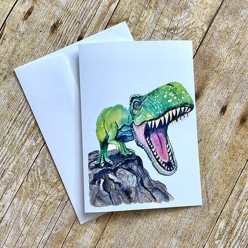 Arlene T Rex Note Card