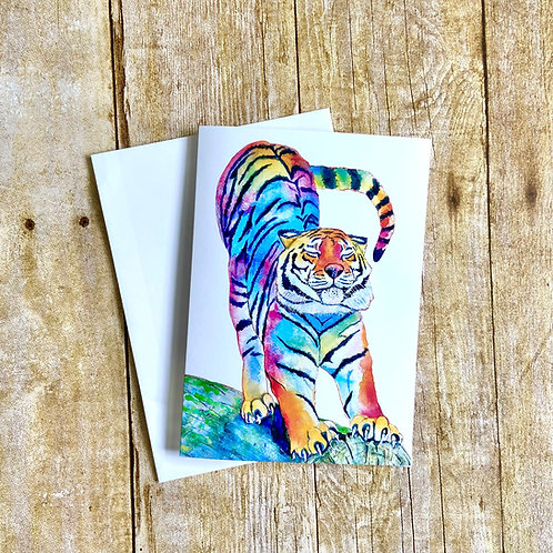Monte the Tiger Note Card