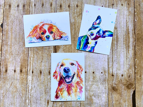 Adorable Dogs Note Card Set
