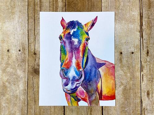 Hurley the Rainbow Horse