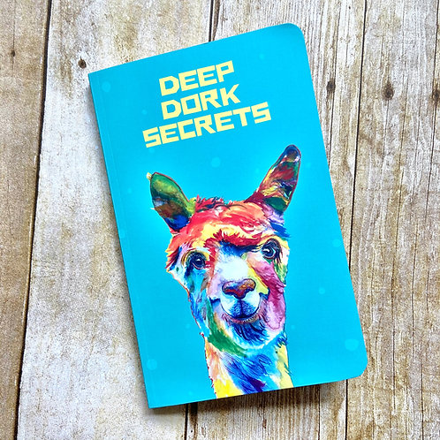 Deep Dork Secrets Softcover Notebook