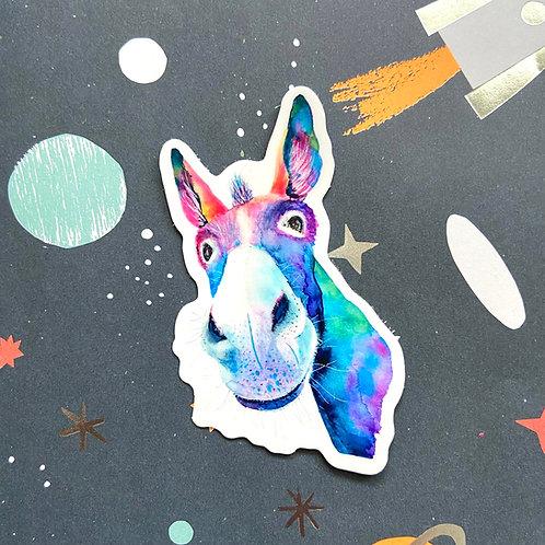 Ferris Muler Donkey Sticker