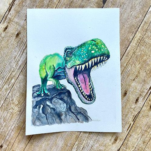 Arlene T. Rex Original Painting