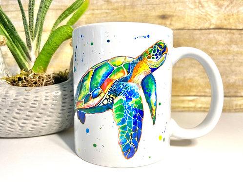 Sea Turtle Mug (15 oz)
