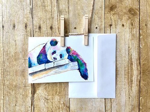 Gregory Panda Note Card