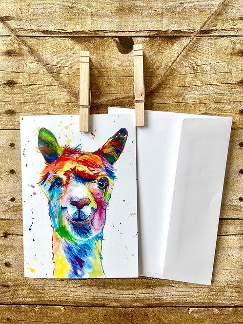 Dolly Llama Notecard