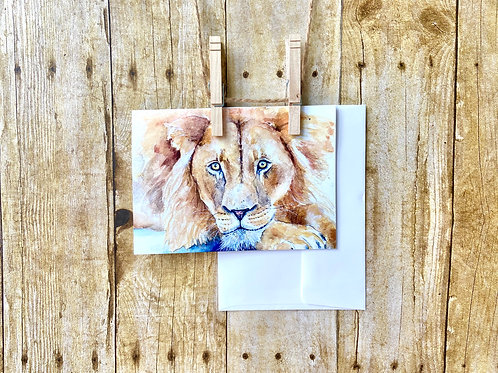 Henry the Lion Note Card
