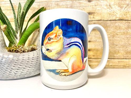 Chipmunk Mug (15 oz)