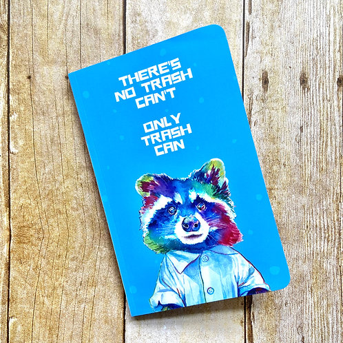 Trash Panda (Raccoon) Softcover Notebook