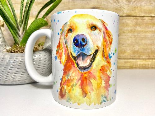 Golden Retriever Mug (15 oz)