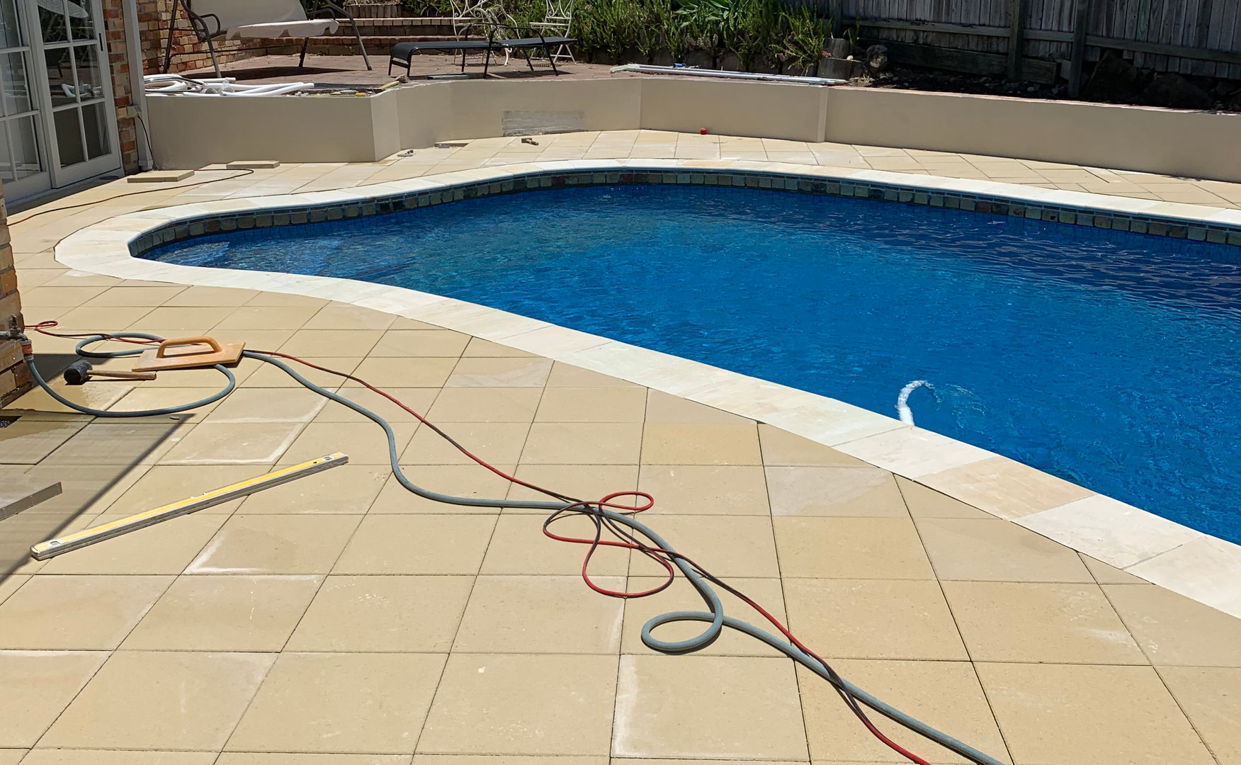 Pool Paving and Coping Project