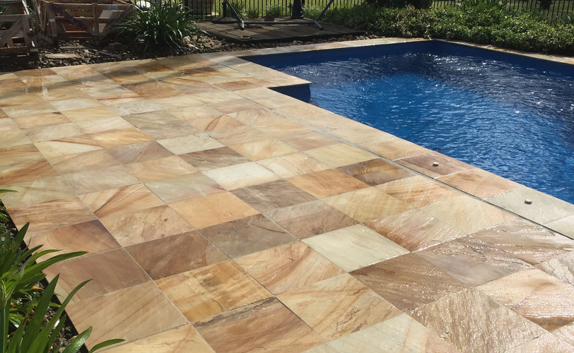 Pool Paving Project