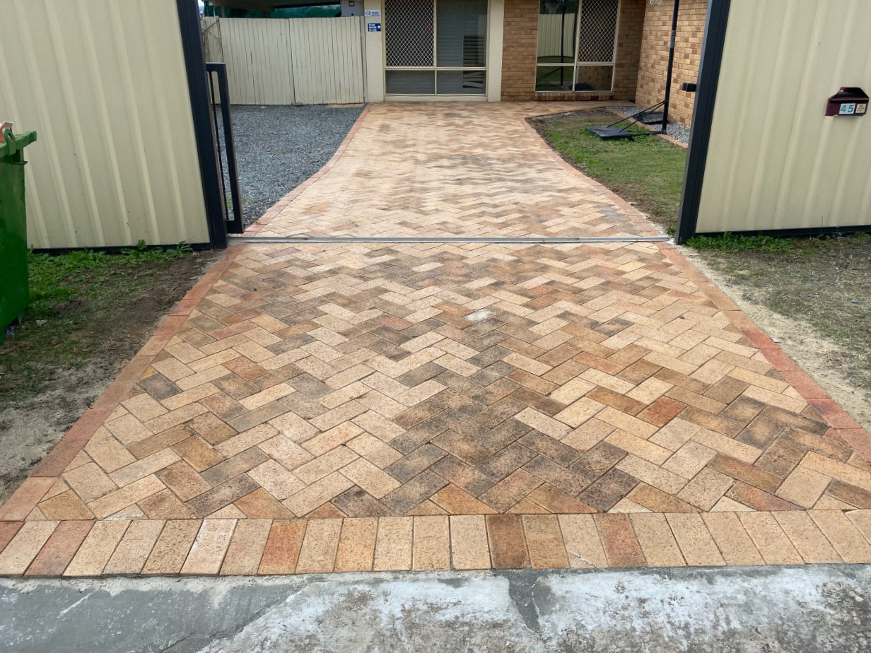 Driveway Paving Rectification Project