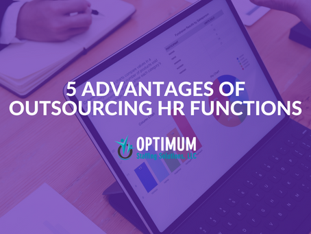 Five Advantages of Outsourcing HR Functions
