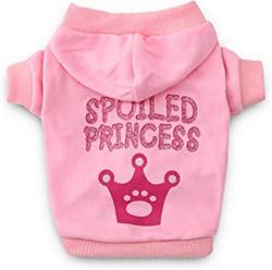 spoiled princess dog sweater