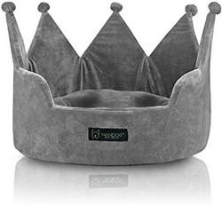 King crown dog bed