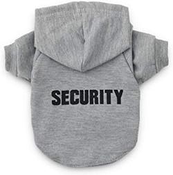 dog security hoodie