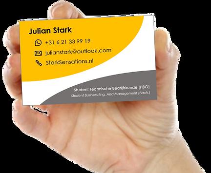 Julian Stark Business Card