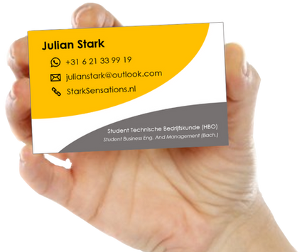 Julian Stark Business Card