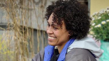 Powerfrau Katharina Oguntoye