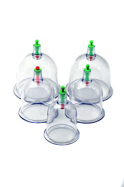 Medical cupping therapy equipment - Cups