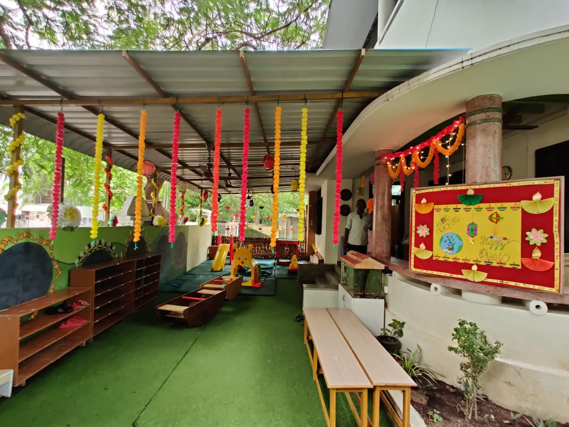 Toddler campus all decked up