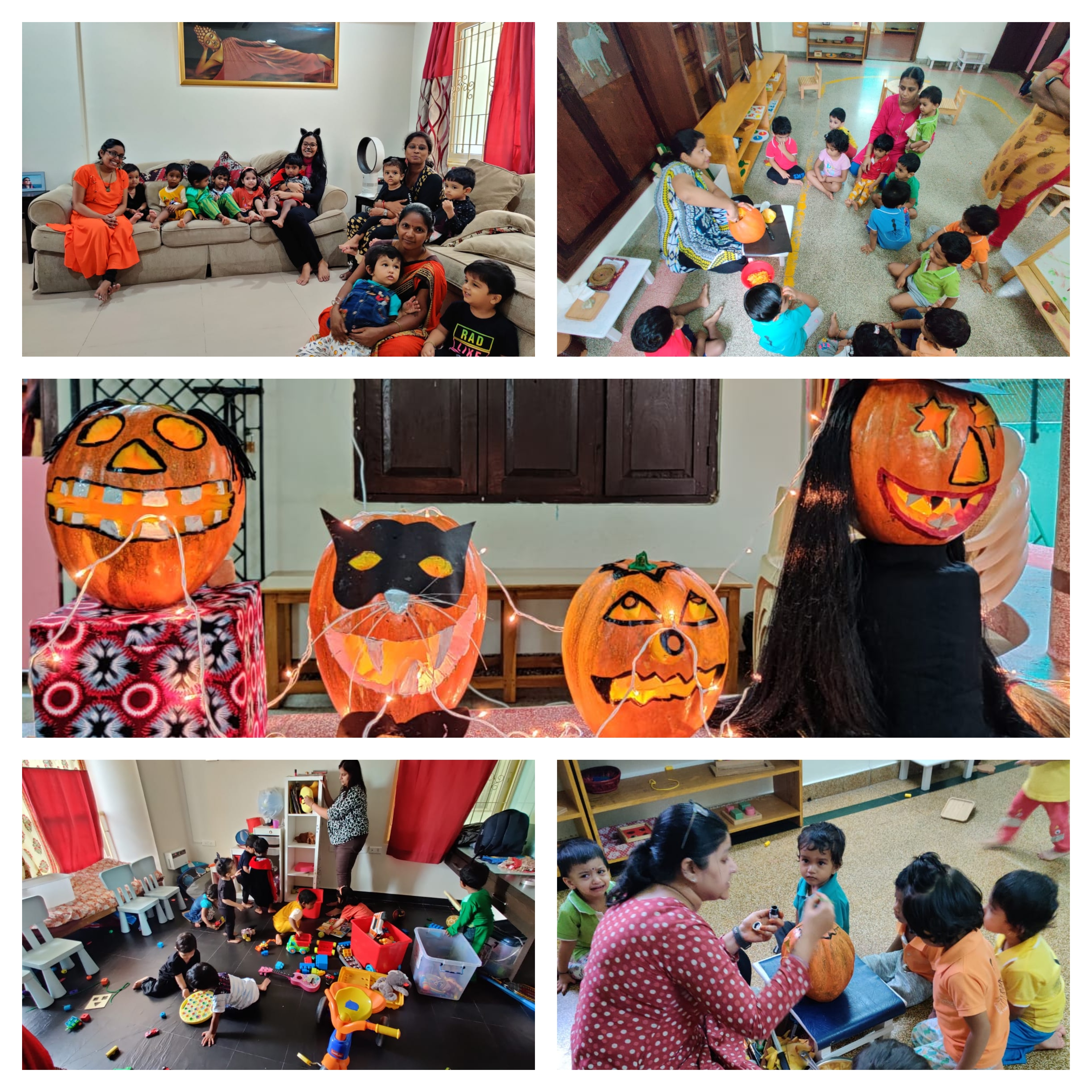 Halloween at Toddlers