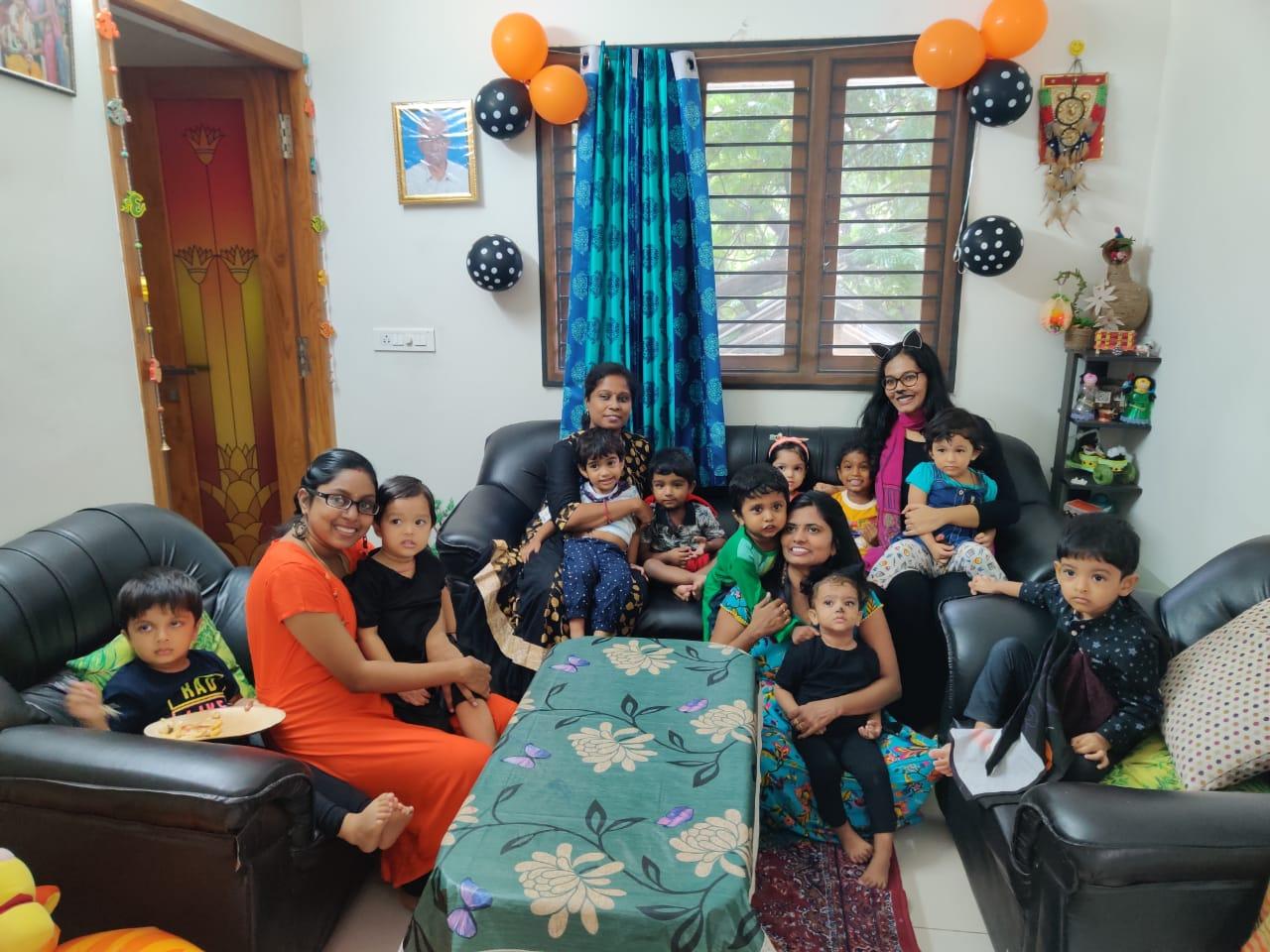 Fun time during House Visit