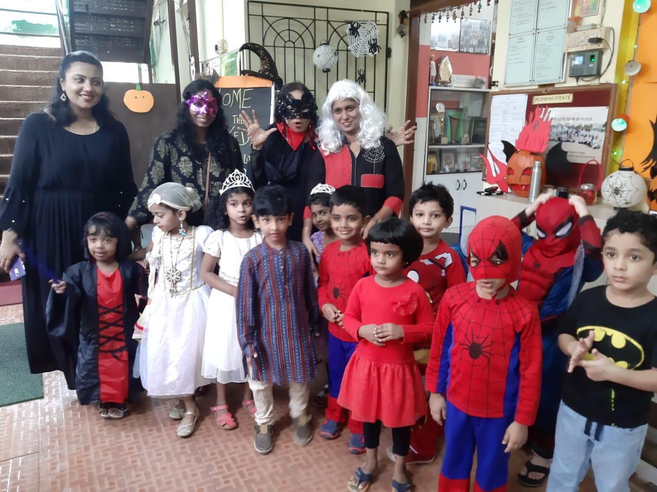 Halloween Celebrations at Primary