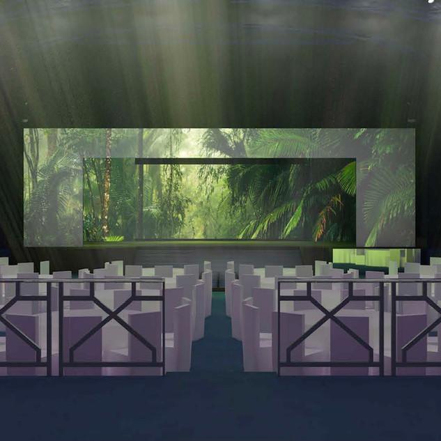 LED Screen Wedding