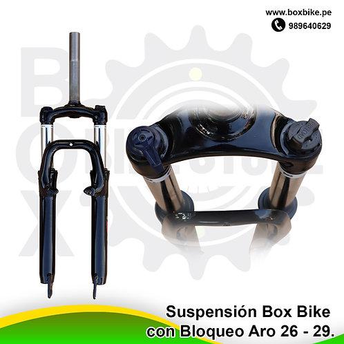 Suspensión Con Bloqueo Box Bike