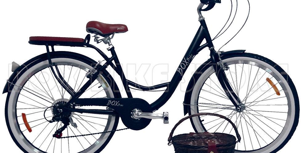 Bicicleta Vintage Box Bike Negro - 2019