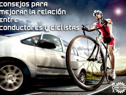 Consejos para mejorar la relación entre conductores y ciclistas