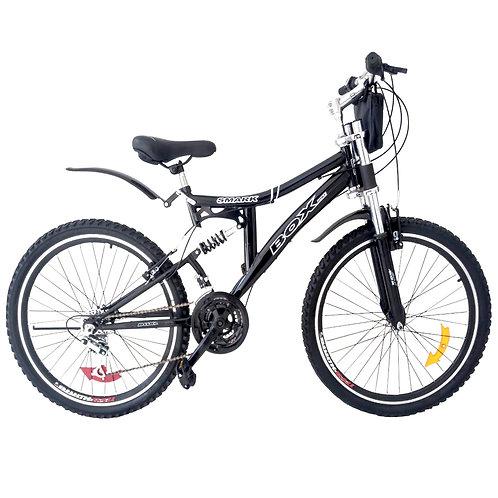 Bicicleta Montañera Aro 26 Doble Amortiguador Unisex Negro