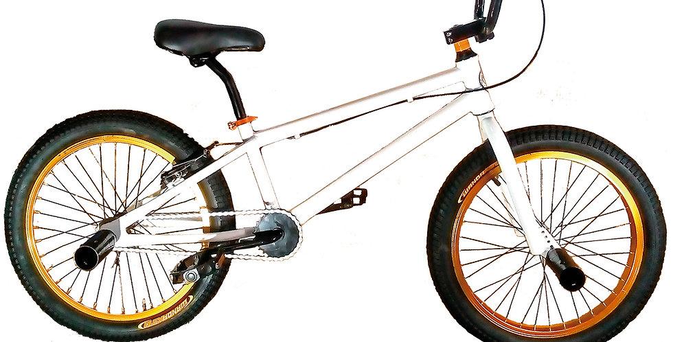Bicicleta Biker Semiprofesional Color Blanco - Aro 20