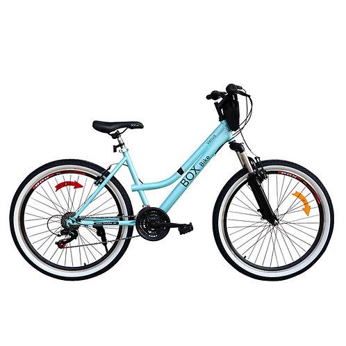 Bicicleta Box Bike MTB Con Suspensión Delantera con Shimano Aro 26 - Verde