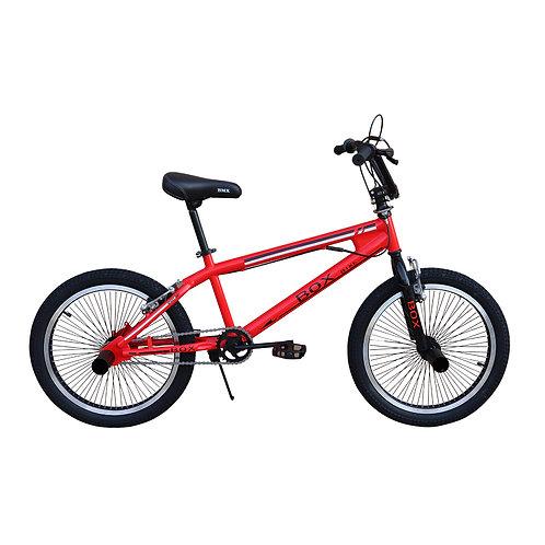 Bicicleta BMX 2021 con Aros Triple Pared Aro 20 - Rojo
